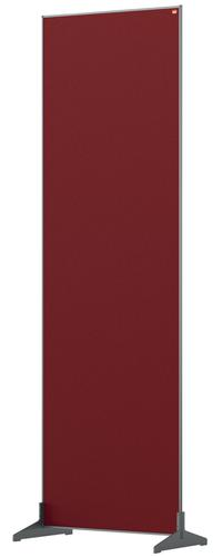 Nobo Impression Pro Floor Divider 600x1800mm Red