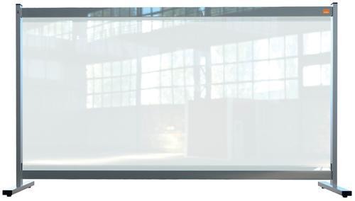 Nobo Prem Clear PVC Protective Desk Dvdr Scrn 1470x860mm