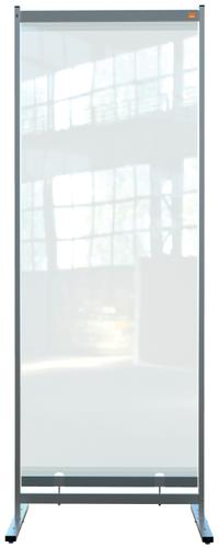 Nobo Prem Clr PVC Free Std Prtctv Rm Dvdr Scrn 780x2060mm