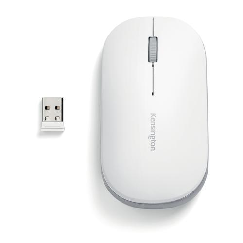 Kensington SureTrack Dual Wireless Mouse White