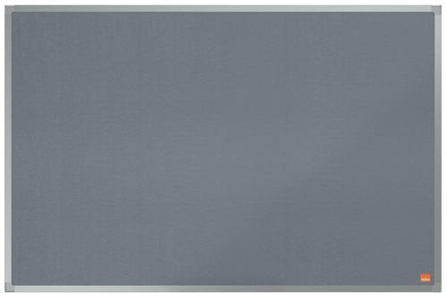 ValueX Noticeboard Grey Felt 900x600mm