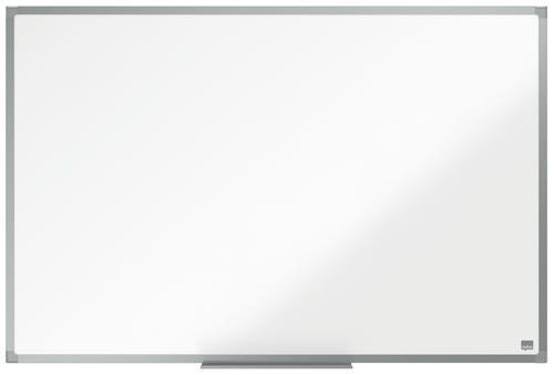 ValueX Melamine Non Magnetic Whiteboard Aluminium Trim 900x600mm