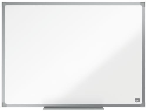 ValueX Melamine Non Magnetic Whiteboard Aluminium Trim 600x450mm