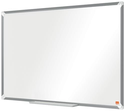 Nobo Premium Plus Steel Magnetic Whiteboard 900x600mm
