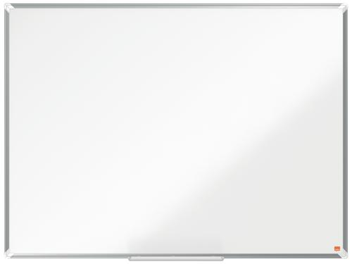 Nobo Premium Plus Melamine Whiteboard 1200x900mm