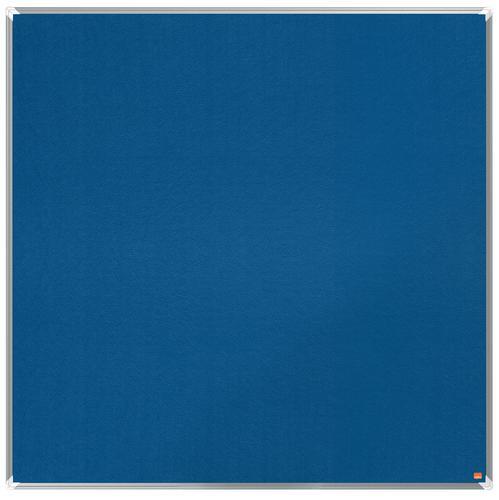 Nobo Premium Plus Blue Felt Notice Board 1200x1200mm