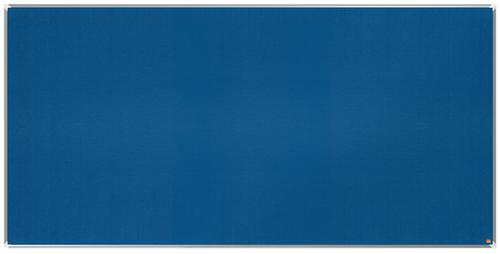 Nobo Premium Plus Blue Felt Notice Board 2400x1200mm