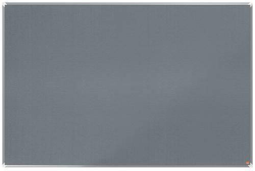 Nobo Premium Plus Grey Felt Notice Board 1800x1200mm