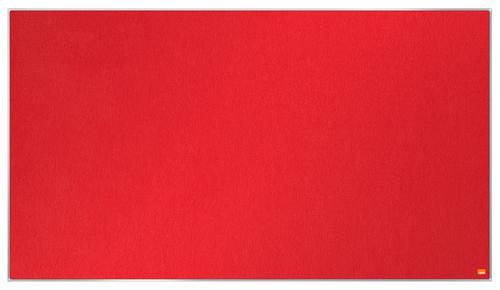 Nobo Impression Pro Widescreen Red Felt Board 1220x690mm