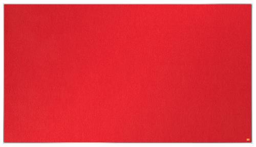 Nobo Impression Pro Widescreen Red Felt Board 1550x870mm