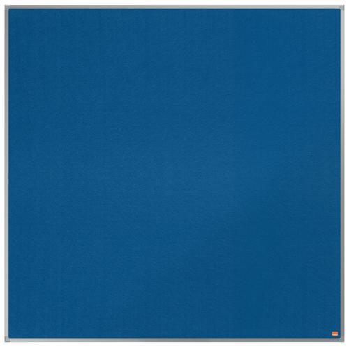 Nobo Essence Blue Felt Notice Board 1200x1200mm