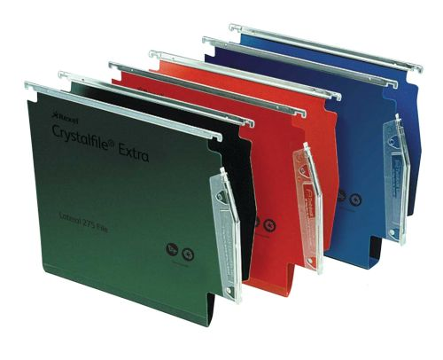 Twinlock Crystalfile Extra Lateral File PP 30mm Red BX25