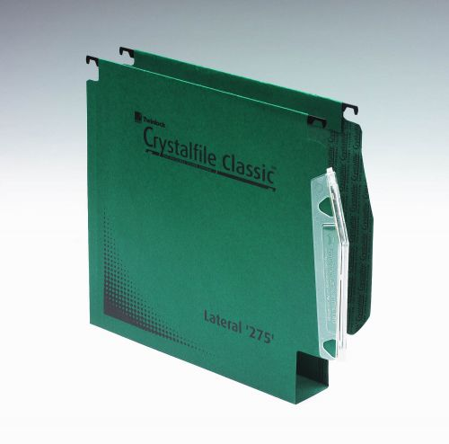Twinlock Crystalfile Lateral File 50mm Extra Green BX50