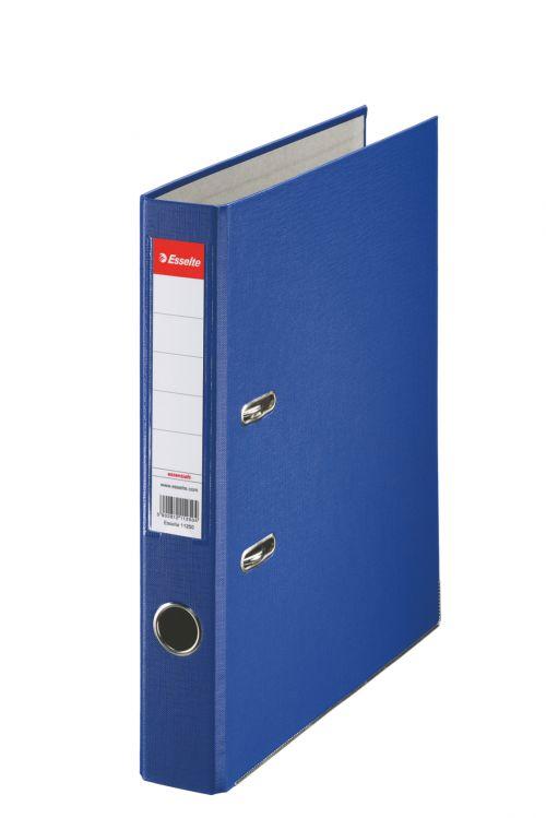 Esselte Essentials Lever Arch File A4 PP 50mm Blue PK25