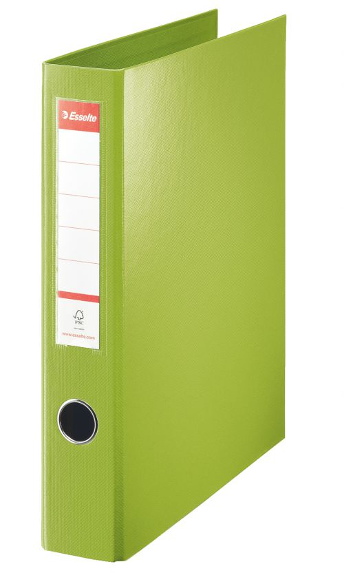 Esselte Standard A4 Ring Binder 4 D-Ring 40mm Green PK12