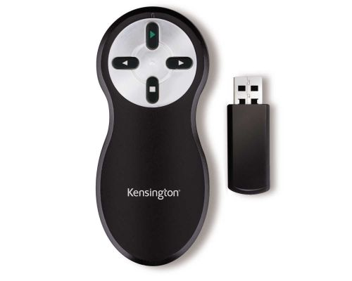Kensington Wireless USB Presenter Black/Chrome K33373EU