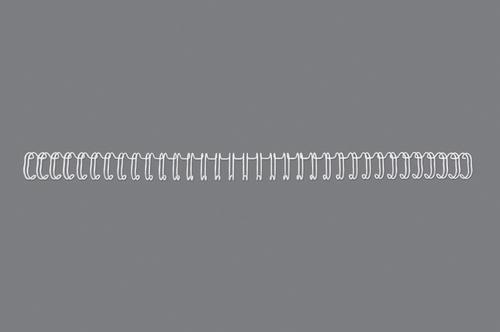 GBC 34 Loop Wire Elements 6mm No4 White RG810470 (PK100)
