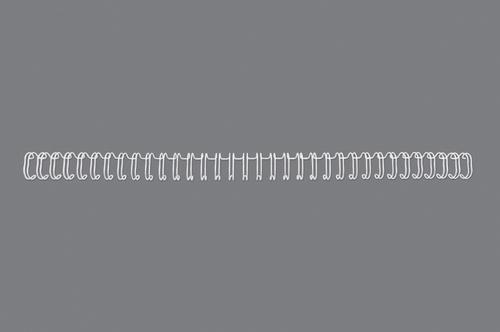 GBC 34 Loop Wire Elements 8mm No5 White RG810570 (PK100)