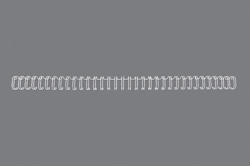 GBC Binding Wire Elements 34 Loop White 9.5mm A4 PK100