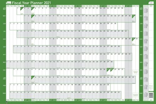 Sasco Mounted Fiscal Year Planner 2021 2022 BX10