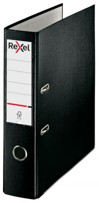 REXEL LEVER ARCH FILE A4 BLACK - MULTI BUY DISCOUNT AVAILABLE!!