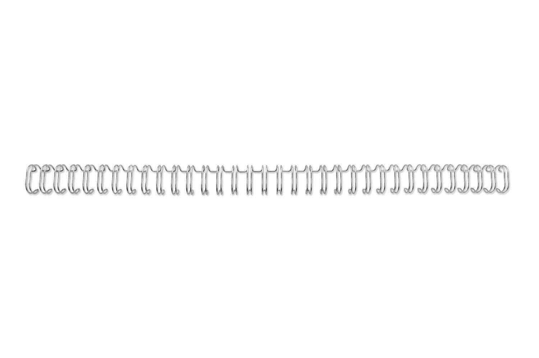 GBC 34 Loop Wire 14mm No.9 Silver PK100