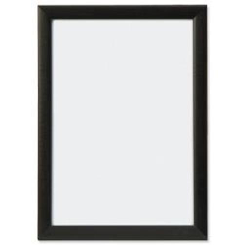 Business Snap Picture or Certificate Frame Polystyrene Front Back-loading A3 328x12x451mm Black