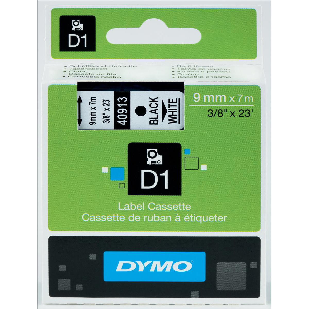 Technology Office Machine Supplies Labelmaker Tapes Brother Label Tape Tze M951 24mm Black On Silver Matt Dymo D1 For Electronic Labelmakers 9mmx7m White Ref 40913 S0720680
