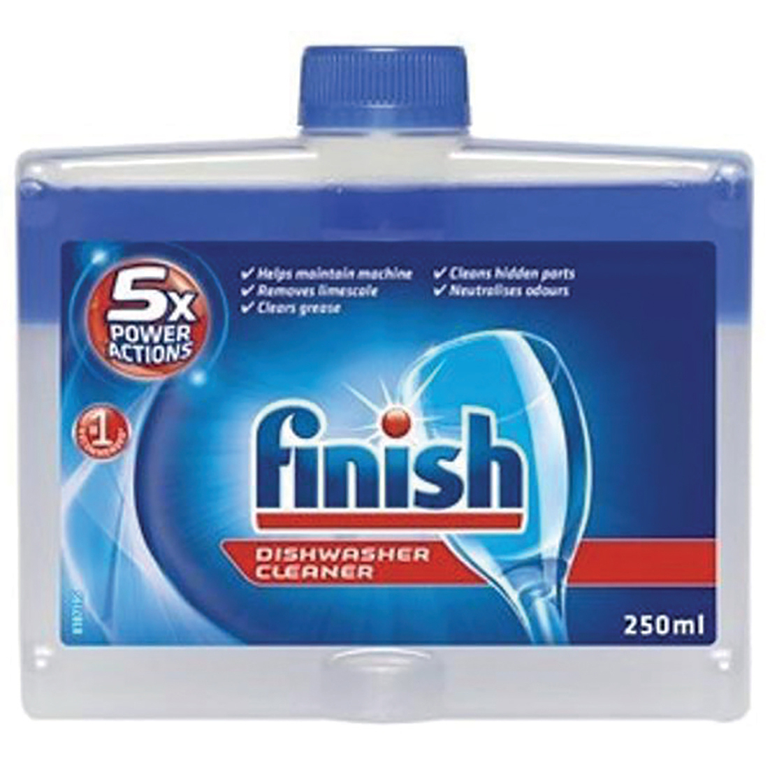 Finish Dishwasher Cleaner 250ml Ref 153850