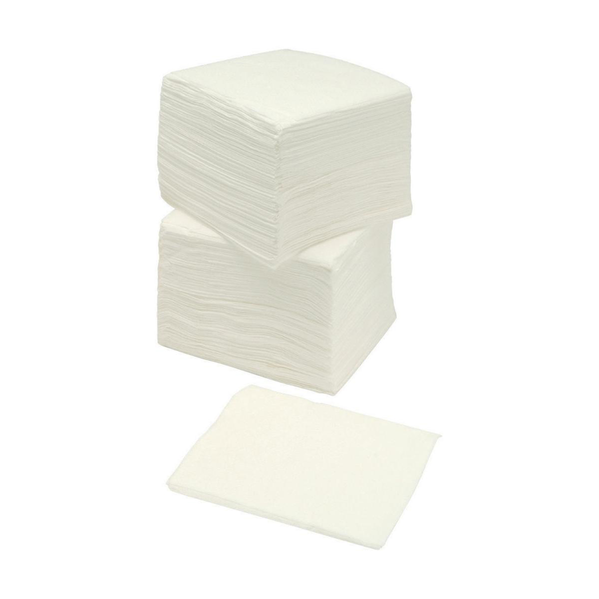 Business Napkins Economy Single Ply 300x300mm White [Pack 500]
