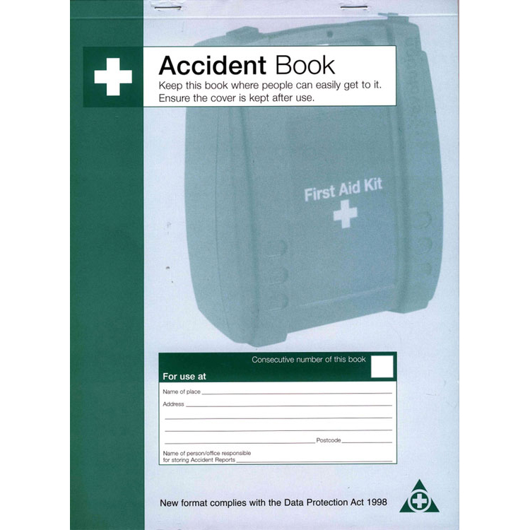 Image for )Accident Book Dpa Compliant (Q3200)