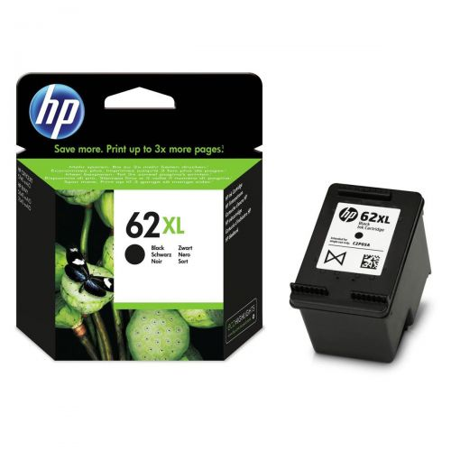 Hewlett Packard [HP] No. 62XL Inkjet Cartridge Black Ref C2P05AE