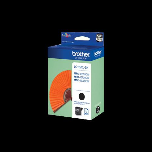 Brother Inkjet Cartridge High Yield Page Life 2400pp Black Ref LC129XLBK