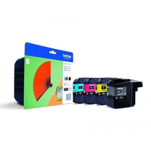 Brother Inkjet Cartridge C/M/Y/K Ref LC129XLVALBP [Pack 4]