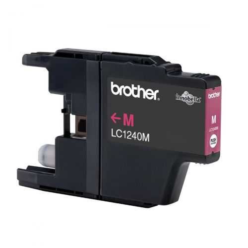 Brother Inkjet Cartridge Page Life 600pp Magenta Ref LC1240M