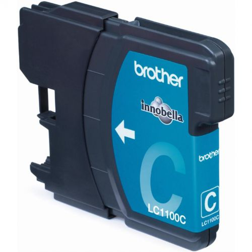 Brother Inkjet Cartridge Page Life 325pp Cyan Ref LC1100C