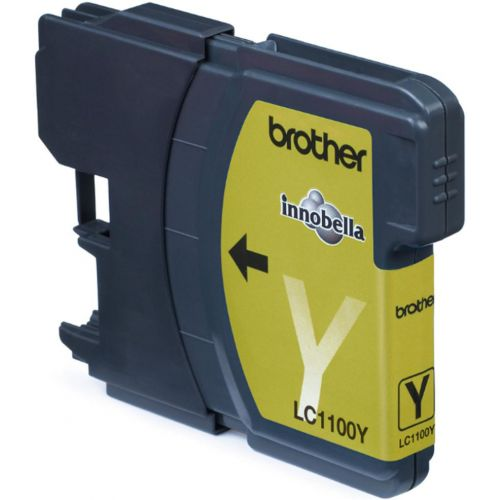 Brother Inkjet Cartridge Page Life 325pp Yellow Ref LC1100Y