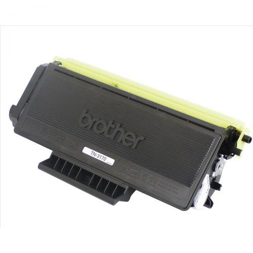 Brother Laser Toner Cartridge Page Life 7000pp Black Ref TN3170