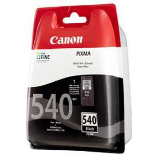 Canon PG-540 Inkjet Cartridge Page Life 180pp Black Ref 5225B005