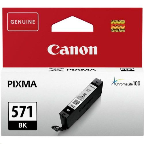 Canon CLI-571 InkJet Cartridge Page Life 350pp Black Ref 0385C001