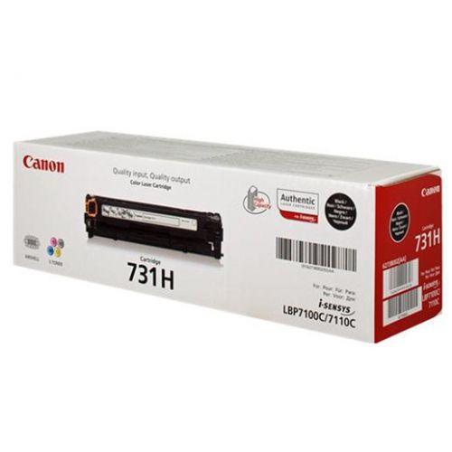 Canon 731 Laser Toner Cartridge Page Life 2400pp Black Ref 731HBK