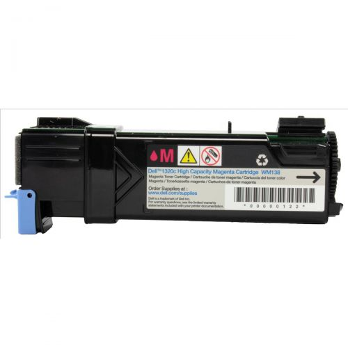 Dell No. WM138 Laser Toner Cartridge Page Life 2000pp Magenta Ref 593-10261