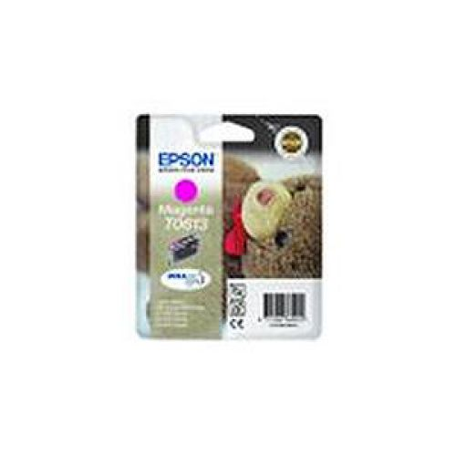 Epson T0614 Inkjet Cartridge Teddybear Page Life 250-420pp Yellow Ref C13T06144010