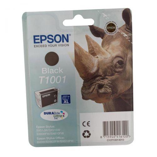 Epson T1001 Inkjet Cartridge DURABrite Ultra Black Ref C13T10014010