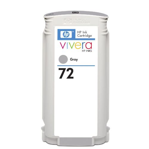 Hewlett Packard [HP] No. 72 Inkjet Cartridge Vivera Ink 130ml Grey Ref C9374A