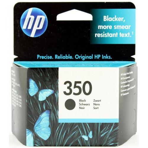 Hewlett Packard [HP] No. 350 Inkjet Cartridge Page Life 200pp 52g Black Ref CB335EE