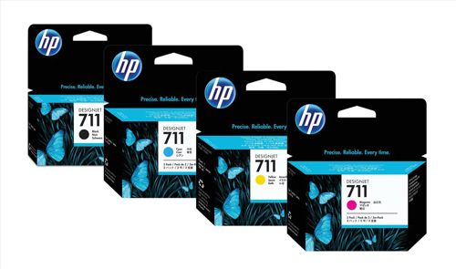 Hewlett Packard [HP] No. 711 Inkjet Cartridge 38ml Black Ref CZ129A