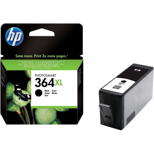 Hewlett Packard [HP] No. 364XL Inkjet Cartridge Page Life 550pp Black Ref CN684EE #ABB