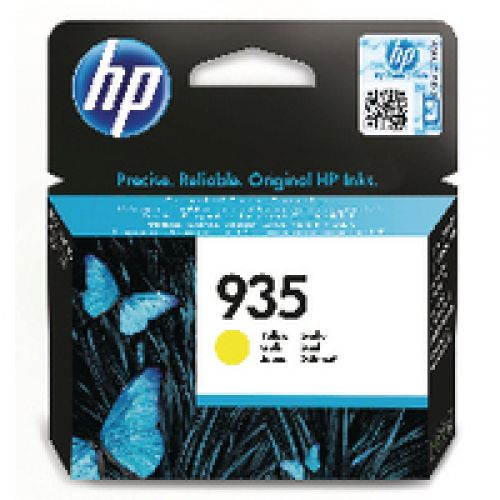 Hewlett Packard [HP] No. 935 Inkjet Cartridge Yellow Ref C2P22AE