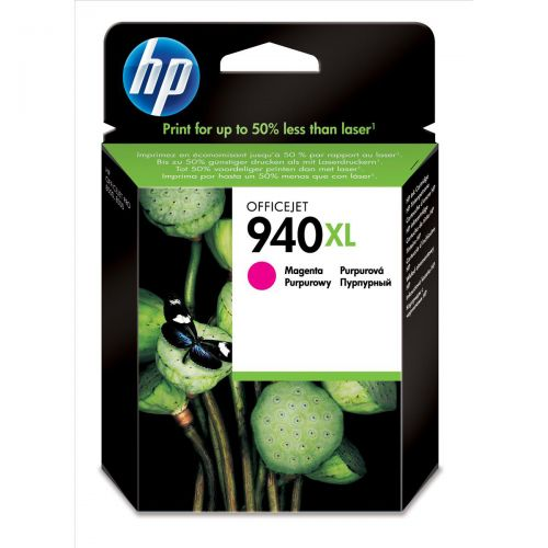 Hewlett Packard [HP] No. 940XL Officejet Inkjet Cartridge Page Life 1400pp Magenta Ref C4908AE